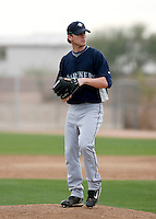 Josh Fields -  Seattle Mariners - 2009 spring training.Photo by:  Bill Mitchell/Four Seam Images