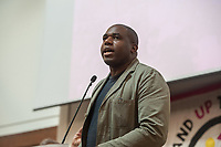 Stand Up To Racism hold their international confernce in London with a range of speakers discussing how to defeat racism & fascism. 20-10-18