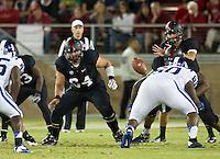 STANFORD, CA - September 8, 2012: Stanford Cardinal vs the Duke Blue Devils at Stanford Stadium in Sanford, CA. Final score Stanford 50, Duke 13.