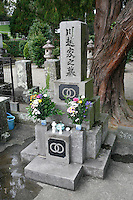 A recent  grave in Nichinan