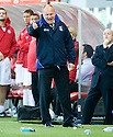 25/09/2010   Copyright  Pic : James Stewart.sct_jsp026_hamilton_v_kilmarnock  .::  KILMARNOCK MANAGER MIXU PAATELAINEN ::.James Stewart Photography 19 Carronlea Drive, Falkirk. FK2 8DN      Vat Reg No. 607 6932 25.Telephone      : +44 (0)1324 570291 .Mobile              : +44 (0)7721 416997.E-mail  :  jim@jspa.co.uk.If you require further information then contact Jim Stewart on any of the numbers above.........