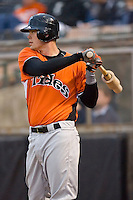 Matt Wieters #32 of the Norfolk Tides waits for his turn to hit at Knights Castle April 13, 2009 in Fort Mill, South Carolina. (Photo by Brian Westerholt / Four Seam Images)