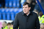 St Johnstone v Ross County…..29.12.19   McDiarmid Park   SPFL<br />Saints manager Tommy Wright<br />Picture by Graeme Hart.<br />Copyright Perthshire Picture Agency<br />Tel: 01738 623350  Mobile: 07990 594431