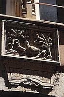 Europe/France/Rhône-Alpes/69/Rhône/Lyon: Ancienne enseigne de volailler rue du Boeuf