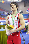 Yusuke Tanaka (JPN), OCTOBER 9, 2014 - Artistic Gymnastics : 2014 World Artistic Gymnastics Championships Medal Ceremony for the Men's Individual All-Around Final at the Guangxi Gymnasium in Nanning, China. (Photo by Yusuke Nakanishi/AFLO SPORT)