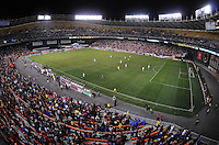 RFK Stadium during the match.   The USMNT tied Costa Rica 2-2 on the final game of the 2010  FIFA World Cup Qualifying round at RFK Stadium,Wednesday  October 14 , 2009.