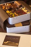 Europe/France/Rhone-Alpes/73/Savoie/Courchevel: Chocolaterie artisanale: La Piste Noire [Non destiné à un usage publicitaire - Not intended for an advertising use]