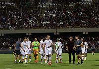 29th August 2021;  Estadio Arechi, Salerno, Campania, Italy;  Serie A Football league, Salernitana versus Roma; Jose Mourinho coach of AS Roma at the end of match