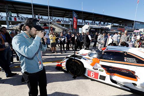 Milo Ventimiglia, #6 Acura Team Penske Acura DPi, P: Dane Cameron, Juan Pablo Montoya, Simon Pagenaud