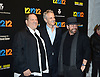 "Harvey Weinstein, John Sykes and James Dolan attend the New York Premiere of ""12-12-12"" on November 8, 2013 at the Ziegfeld Theatrein New York City."