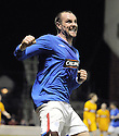 10/02/2010  Copyright  Pic : James Stewart.sct_jspa10_rangers_v_motherwell  .:: KRIS BOYD CELEBRATES AFTER HE SCORES THE EQUALISER::.James Stewart Photography 19 Carronlea Drive, Falkirk. FK2 8DN      Vat Reg No. 607 6932 25.Telephone      : +44 (0)1324 570291 .Mobile              : +44 (0)7721 416997.E-mail  :  jim@jspa.co.uk.If you require further information then contact Jim Stewart on any of the numbers above.........