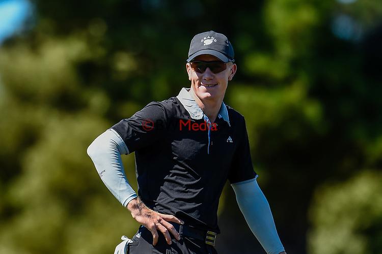 James Anstiss. Harewood Open, Harewood Golf Course, Christchurch, New Zealand, Thursday 4 October 2018. Photo:John Davidson/www.bwmedia.co.nz