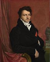 Full title: Monsieur de Norvins<br /> Artist: Jean-Auguste-Dominique Ingres<br /> Date made: 1811-12