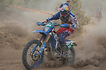 Chile's Benjamin Herrera during the first day junior's trophy class of the FIM international six days of enduro 2016 in Navarra, Spain. October 11, 2016. (ALTERPHOTOS/Rodrigo Jimenez)