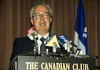 Montreal (Qc) Canada  file Photo - 1988 -, Andre Bisson