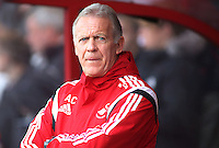 Swansea First Team Coach Alan Curtis before the Barclays Premier League match between AFC Bournemouth and Swansea City played at The Vitality Stadium, Bournemouth on March 12th 2016
