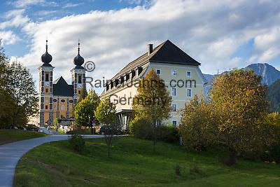 Austria, Styria, Frauenberg: pilgrimage church Frauenberg   Oesterreich, Steiermark, Frauenberg: Wallfahrtskirche Frauenberg (Kirche Mariae Opferung Frauenberg)