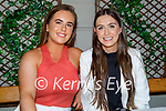 Enjoying the evening in the Ashe Hotel on Friday, l to r: Emma O'Connor and Sarah Barry.