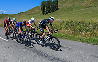 Ollie Jones (NZ National Team, right). Masterton-Alfredton road circuit - Stage Two of 2021 NZ Cycle Classic UCI Oceania Tour in Wairarapa, New Zealand on Wednesday, 13 January 2021. Photo: Dave Lintott / lintottphoto.co.nz