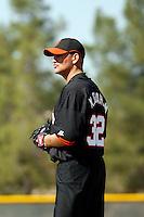 Matt Graham - San Francisco Giants 2009 Instructional League. .Photo by:  Bill Mitchell/Four Seam Images..