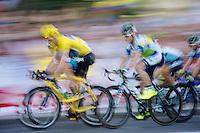 Chris Froome (GBR)<br /> <br /> Tour de France 2013<br /> (final) stage 21: Versailles - Paris Champs-Elysées<br /> 133,5km