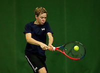 Almere, Netherlands, December 6, 2015, Winter Youth Circuit, Lodewijk Westrate (NED)<br /> Photo: Tennisimages/Henk Koster