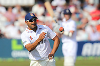 Essex captain Ravi Bopara - Essex CCC vs England - LV Challenge Match at the Essex County Ground, Chelmsford - 30/06/13 - MANDATORY CREDIT: Gavin Ellis/TGSPHOTO - Self billing applies where appropriate - 0845 094 6026 - contact@tgsphoto.co.uk - NO UNPAID USE