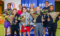 Wateringen, The Netherlands, December 1,  2019, De Rhijenhof , NOJK 12 and16 years, all the finalists 12 and 16 years<br /> Photo: www.tennisimages.com/Henk Koster