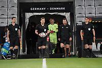 Einlauf der Mannschaften - Innsbruck 02.06.2021: Deutschland vs. Daenemark, Tivoli Stadion Innsbruck