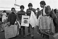 Children street vendors in Istanbul, Turkey - Child labor as seen around the world between 1979 and 1980 – Photographer Jean Pierre Laffont, touched by the suffering of child workers, chronicled their plight in 12 countries over the course of one year.  Laffont was awarded The World Press Award and Madeline Ross Award among many others for his work.