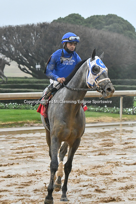 February 27, 2021: Essential Quality #1, ridden by Luis Saez wins the Southwest Stakes (Grade 3), a 'Road to the Kentucky Derby' points race, for trainer Brad Cox at Oaklawn Park in Hot Springs, Arkansas. Ted McClenning/Eclipse Sportswire/CSM