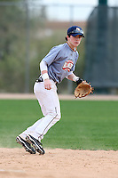January 16, 2010:  Jared Brinson (Madison, AL) of the Baseball Factory Midwest Team during the 2010 Under Armour Pre-Season All-America Tournament at Kino Sports Complex in Tucson, AZ.  Photo By Mike Janes/Four Seam Images