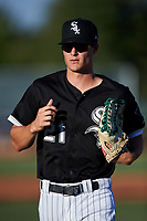 AZL White Sox left fielder Jonathan Allen (21) jogs off the field between innings of an Arizona League game against the AZL Royals at Camelback Ranch on June 19, 2019 in Glendale, Arizona. AZL White Sox defeated AZL Royals 4-2. (Zachary Lucy/Four Seam Images)