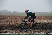 3rd October 2021, Paris–Roubaix Mens Cycling tour;  Max Schachmann during the Paris–Roubaix which is famous for its uneven cobblestone course.