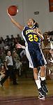 TORRINGTON, CT, 01/04/08- 010408BZ02- Kennedy's Jaleesa Roy (25) goes to the hoop against Torrington during their game at Torrington High School Friday night.<br /> Jamison C. Bazinet Republican-American