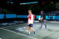 Rotterdam, The Netherlands, 12 Februari 2020, ABNAMRO World Tennis Tournament, Ahoy, David Goffin (BEL).<br /> Photo: www.tennisimages.com