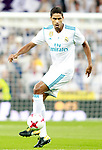 Real Madrid's Raphael Varane during Supercup of Spain 2nd match. August 16,2017. (ALTERPHOTOS/Acero)