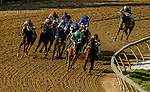 May 14, 2021: Army Wife #1, ridden by jockey Joel Rosario, wins the Black-Eyed Susan Stakes on Black-Eyed Susan Day at Pimlico Race Course in Baltimore, Maryland. John Voorhees/Eclipse Sportswire/CSM