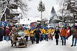 Deutschland, Bayern, Oberbayern, Chiemgau, Ruhpolding: Faschingszug 2009, findet nur alle 5 Jahre statt | Germany, Bavaria, Upper Bavaria, Chiegau, Ruhpolding: Carnival Parade 2009, celebrated every 5 years