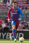 FC Barcelona's Clement Lenglet during La Liga match. August 29, 2021. (ALTERPHOTOS/Acero)