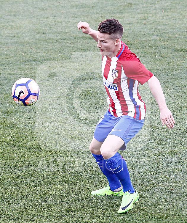 Atletico de Madrid's Kevin Gameiro during La Liga match. March 19,2017. (ALTERPHOTOS/Acero)