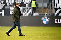 03.03.2018, Commerzbank - Arena, Frankfurt, GER, 1.FBL, Eintracht Frankfurt vs Hannover 96 , <br />Manager Horst Heldt (Hannover) *** Local Caption *** © pixathlon<br /> Contact: +49-40-22 63 02 60 , info@pixathlon.de