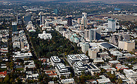 aerial photograph of Sacramento