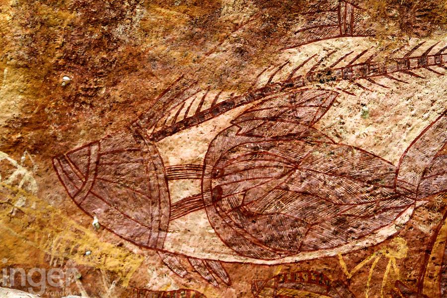 Aboriginal Rock Art at Ubirr, Kakadu National Park, Northern Territory