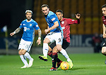 St Johnstone v St Mirren….27.03.19   McDiarmid Park   SPFL<br />Chris Kane and Ethan Erhahon<br />Picture by Graeme Hart. <br />Copyright Perthshire Picture Agency<br />Tel: 01738 623350  Mobile: 07990 594431
