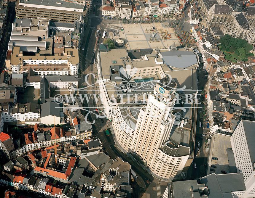 September 1997. Boerentoren in Antwerpen.