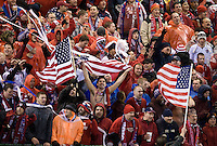 USA Fans, Wed, Feb. 11, USA 2-0 over Mexico in a qualifying match for the 2010 World Cup, in Columbus, Ohio.