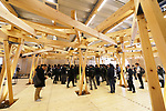 General view, <br /> JANUARY 29, 2019 : <br /> Tokyo 2020 to Host Press Tour of Village Plaza in Athletes Village and Ceremony Inviting Municipalities Participating in Operation BATON, <br /> in Tokyo, Japan. <br /> (Photo by Naoki Morita/AFLO SPORT)
