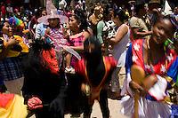 14.02.2010  Coroico(Bolivia)<br /> <br /> Children parade.<br /> <br /> Défilé pour enfants.