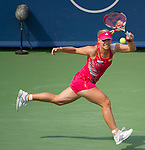Angelique Kerber Wins the women's final at the Western & Southern Open in Mason, OH on August 19, 2012.